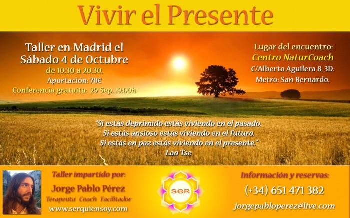 Cartel_VIVIR_EL_PRESENTE_Octubre2014